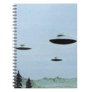 Cuaderno Trío del UFO