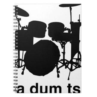 Cuaderno Tss de Dum de los vagos
