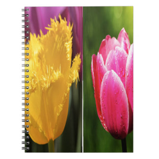 Cuaderno Tulips Flowers