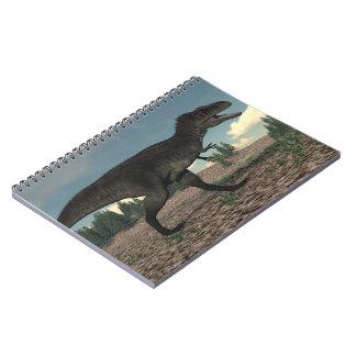 Cuaderno Tyrannotitan - 3D rinden