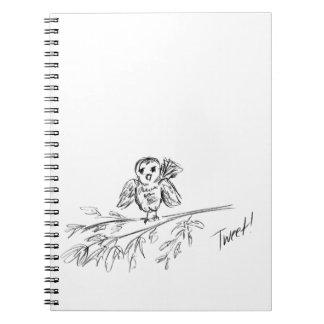 Cuaderno Un pájaro, el pío original