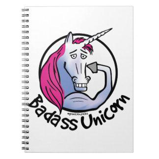 Cuaderno Unicorn genial unicornio Duro explosión