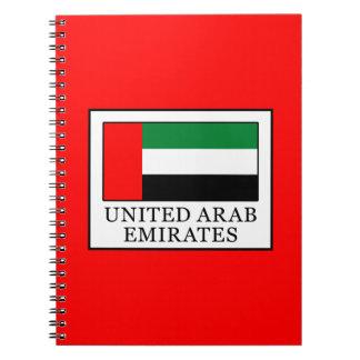 Cuaderno United Arab Emirates