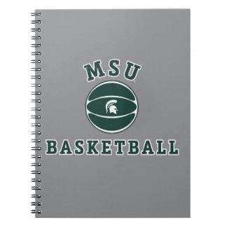 Cuaderno Universidad de estado del baloncesto el | Michigan