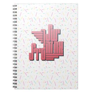 Cuaderno usted va chica