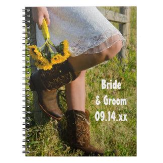 Cuaderno Vaquera y boda occidental del país de los