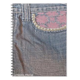 Cuaderno Vaqueros florales