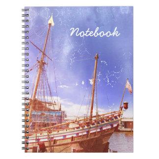 "Cuaderno ""velero """