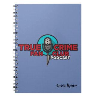 Cuaderno verdadero del club de fans del crimen