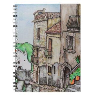 Cuaderno Vía Costarella y monasterio