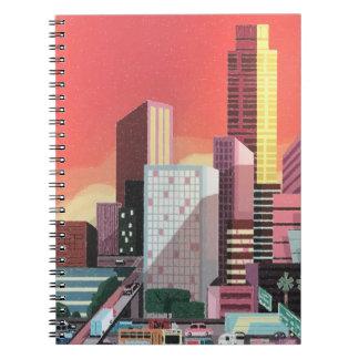 Cuaderno Viaje del vintage de Los Ángeles