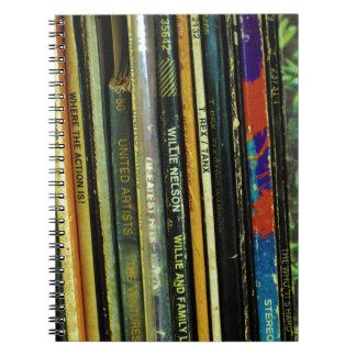 Cuaderno Vida 1 del vinilo