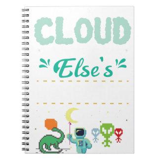 Cuaderno Videojugador del amante del ordenador divertido ÉL