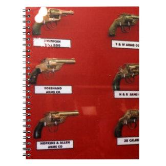 Cuaderno Viejas Seis-pistolas del oeste