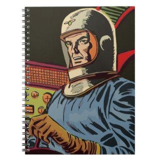 Cuaderno Viejo héroe a partir del futuro