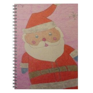 Cuaderno Vintage Papá Noel
