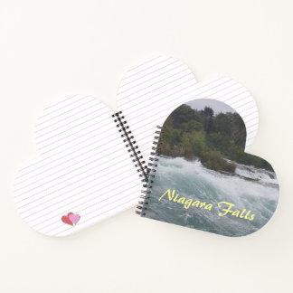 Cuaderno Visita turística de excursión en Niagara Falls