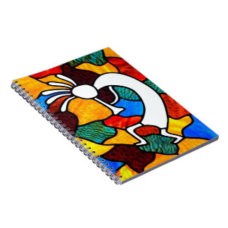 Cuaderno Vitral de Kokopelli