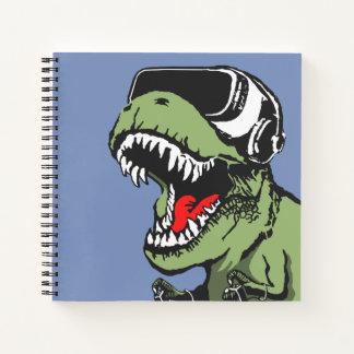 Cuaderno VR T-rex
