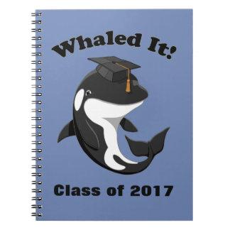 Cuaderno Whaled él clase de orca linda de la orca 2017
