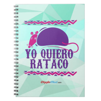 Cuaderno Yo Quiero Rataco