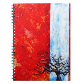 Cuaderno Zarza ardiente
