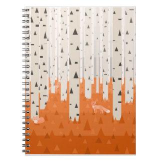 Cuaderno Zorros del bosque