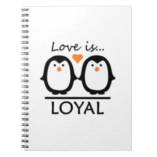 Cuadernos del amor del pingüino