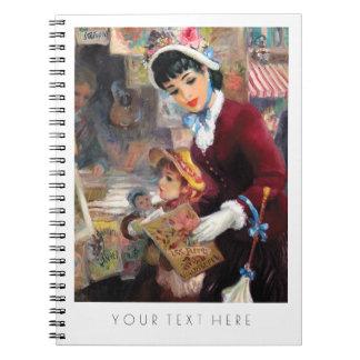 Cuadernos del regalo de la bella arte de la