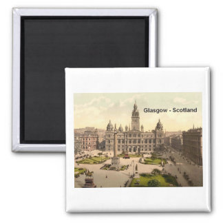 Cuadrado de Escocia Glasgow George (St.K.) Imanes