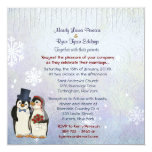 Cuadrado de la invitación del boda de novia y del