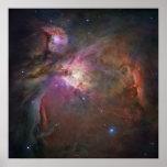 Cuadrado de la nebulosa de Orión Posters