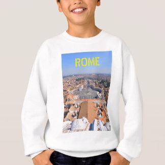 Cuadrado de San Pedro en Vatican, Roma, Italia Sudadera