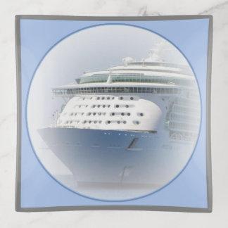 Cuadrado del camafeo del barco de cruceros