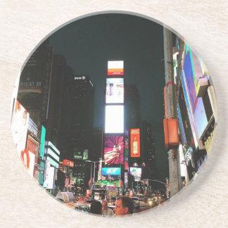 Cuadrado del tiempo, NYC Posavasos De Arenisca