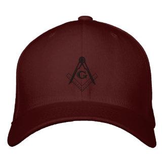 Cuadrado y compás bordados Ballcap Gorras De Beisbol Bordadas