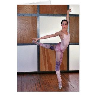 Cuadrados 3 del ballet tarjeta