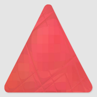 Cuadrados coloreados reconstruidos colcomanias de trianguladas