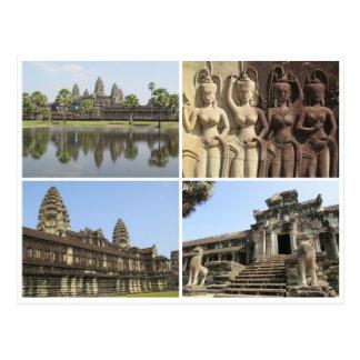 cuadrados de Angkor Wat Postal