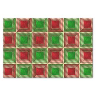 Cuadrados festivos brillantes papel de seda