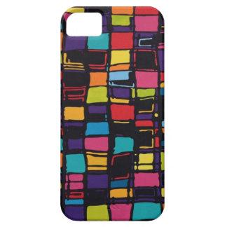 cuadrados y color funda para iPhone SE/5/5s