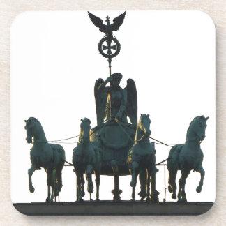 Cuadriga de BERLÍN en la puerta de Brandeburgo Posavasos