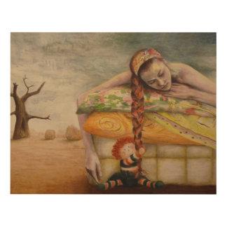 """Cuadro """"Atada"""" Acrylic painting by Mayra Melendez"""