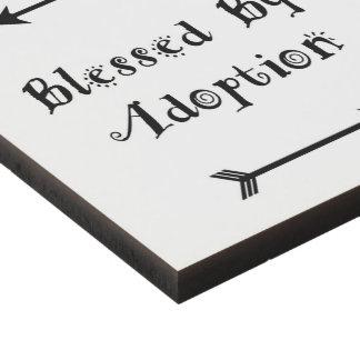 Cuadro Bendecido por la adopción - acogida