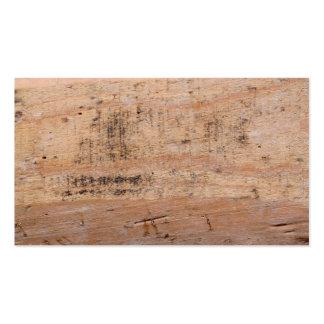 Cuadro del Driftwood Tarjetas De Visita