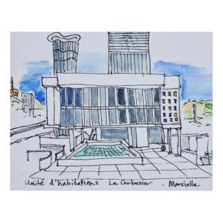 Cuadro Diseñado por Le Corbusier el | Marsella, Francia