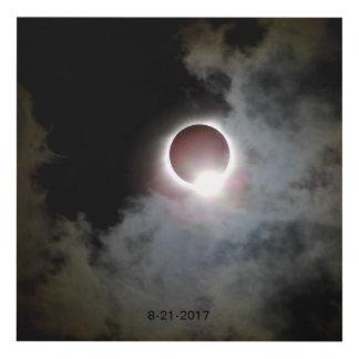 Cuadro Eclipse solar 21 de agosto de 2017