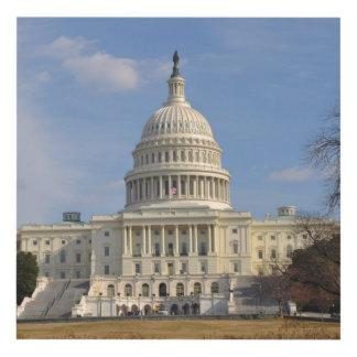 Cuadro Edificio de Capitol Hill del Washington DC