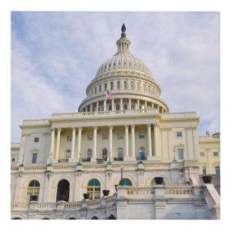 Cuadro Edificio de Capitol Hill en Washington DC