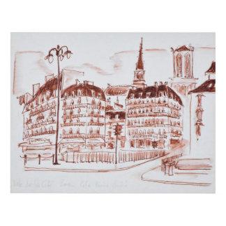 Cuadro El La cita y el Notre Dame de Paris el | París,